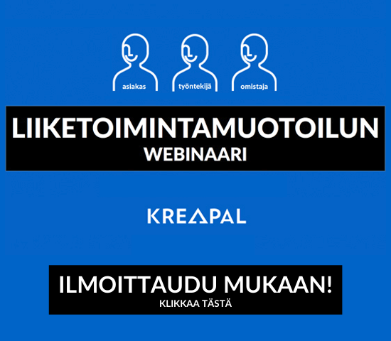 webinaarit palvelumuotoilusta ja liiketoimintamuotoilusta